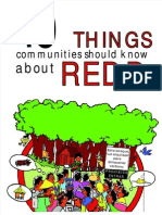 10 Things Communities Should Know About REDD