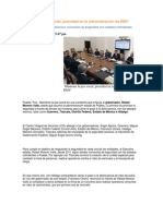 11-10-2013 Puebla Noticias - Mantener la paz social, prioridad en la administración de RMV