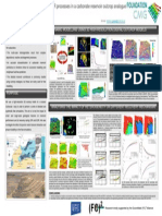 Numerical Simulation of IOR and EOR Processes in a Carbonate Reservoir Outcrop Analogue
