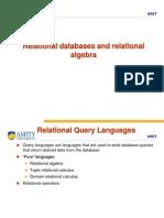 3c3fe Relational Algebra