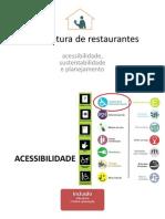 Arquitetura de Restaurantes (Acessibilidade, Sustentabilidade e Planejamento)