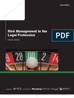 Risk Management in the Legal Profession 3rd Edition