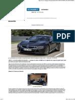 BMW i8, la GT écolo