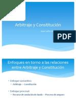 Arbitraje y Constitución