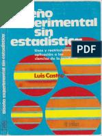 Diseño experimental sin estadistica Luis Castro