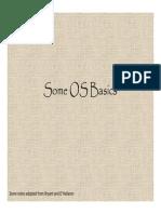 Cs33 Os Basics