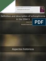 Esquizofrenia en El DSM5