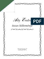 Ady Endre - Ady Endre összes versei-upByOm