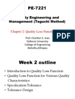 PE-7221 2nd Week Quality Loss Function
