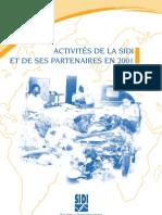 Rapport d'activités 2001