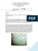 Lab 02 - Measurement of Microwave Power-signed