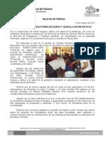 13/10/13 Germán Tenorio Vasconcelos Capacita Sso a Productores de Queso y Quesillo de Reyes Etla