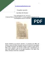Evangelhos Apócrifos - Apocalipse das Semanas (Enoch).doc