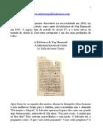 Evangelhos Apócrifos - (A Sofia de Jesus Cristo).doc