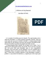 Evangelhos Apócrifos - Apocalipse de Paulo.doc