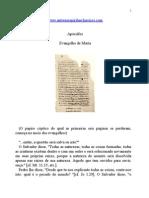 Apócrifos - Evangelho de Maria.doc