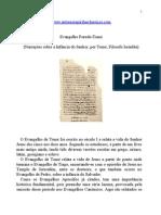 Apócrifos - Evangelho Pseudo-Tomé.doc