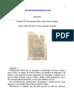 Apócrifos - Relatório do Governador Pilatos Sobre Nosso Senhor.doc