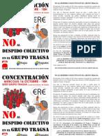 Concentración contra el Despido colectivo en el Grupo Tragsa
