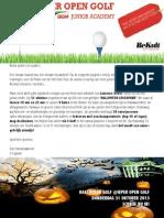 Nieuwsbrief OKTOBER Ieper Open Golf DCM Junior Academy