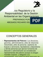 Marco Regulatorio de La Seguridad y Salud Laboral en Venezuela RICHARD DELGADO62549