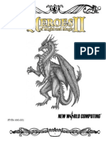 Heroes of Might & Magic 2 - Manual UK