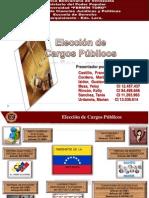 Elección de cargos publico