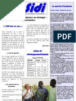 infosidi n°15 - Actionnaires et souscripteurs au Sénégal