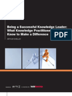 Being a Successful Knowledge Leader