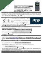 Manual Satelital Quick 9505a q2