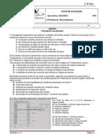 Unidade 2 - Distribuição de matéria e Unidade 3