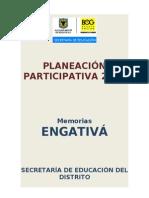 Memorias Planeacion Participativa 2010 Engativa (1)