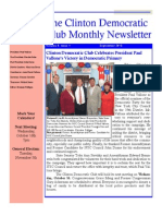 The Clinton Democratic Club September 2013 Newsletter