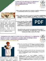 """""""Terminología grecolatina en las ciencias y la medicina"""" UCA"""