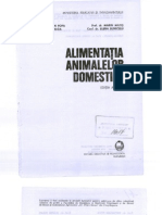 Alimentatia animalelor domestice