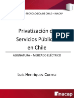 Privatizacion en Chile Revision