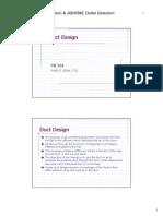 ASHRAE Duct Design New