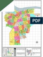 Mapa da Area Urbana do distrito sede do município de Porto V