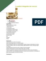 Recetas Libres de Gluten en Ingles