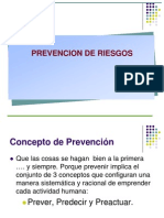 Unidad 1 Prevención de riesgos