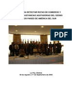Reporte Reunin Deteccin Rutas ODS La Paz Bolivia