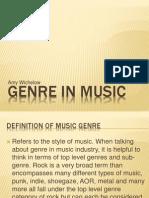 Genre in Music