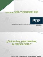 PSICOLOGÍA Y COUNSELING