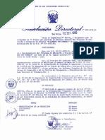 RESOLUCION DIRECTORAL N° 022-INTE-95
