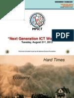 GTCW13 Next Generation IT Workforce - James Jones