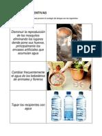 MEDIDAS PREVENTIVAS, Sintomas y Recomendaciones en El Dengue
