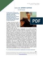 Entrevista Con Jeremy Safran