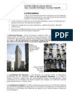Cours l Architecture Au 20eme Siecle
