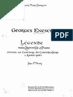 Enesco-Légende (Trumpet)