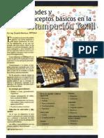 Generalidades y Conceptos Basicos en La Estampacin Textil